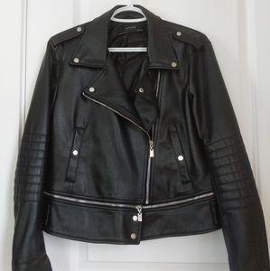 Zara Faux Leather Jack